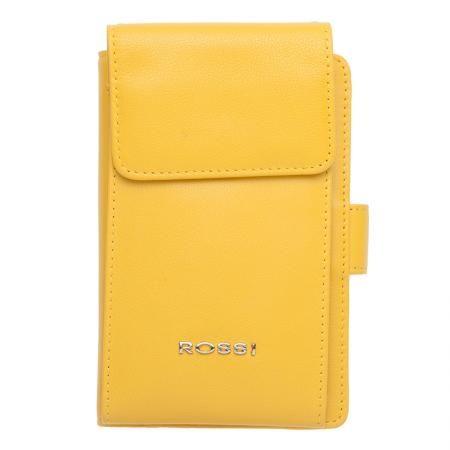 Дамски жълт портфейл - ROSSI