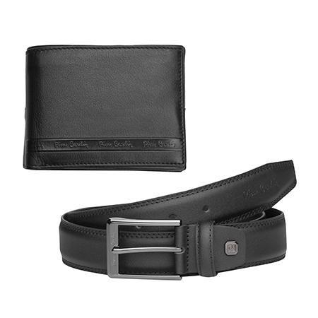 Комплект колан и портфейл - PIERRE CARDIN - 130 см