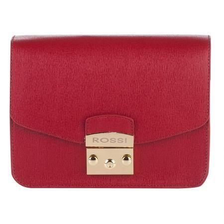Дамска чанта цвят бордо- ROSSI
