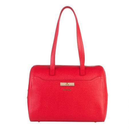 Дамска стилна чанта червена - ROSSI