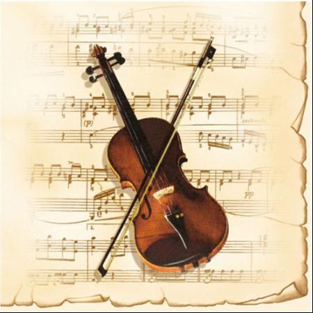 Салфетки цигулка