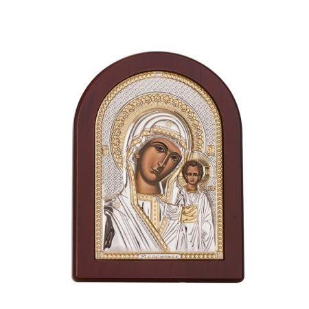 Икона Казанска Богородица 6 / 8,5см.