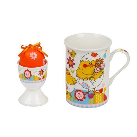 Комплект чаша с поставка за яйце