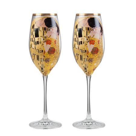 The Kiss  чаши за шампанско