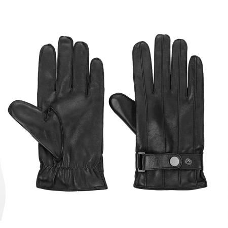 Мъжки ръкавици със закопчалка Silver Flame