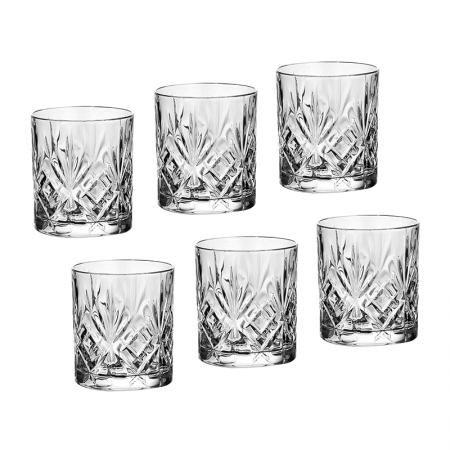 Melodia 6 бр. чаши за уиски