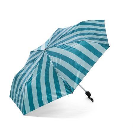 Дамски чадър зелено райе - Pierre Cardin