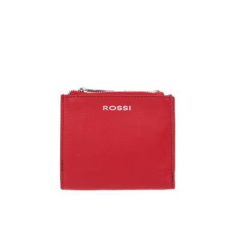 Дамско портмоне цвят Наситено червено - ROSSI