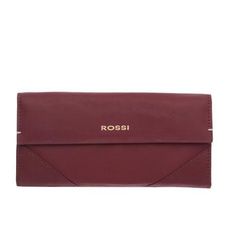 Дамско портмоне цвят Винено червено - ROSSI