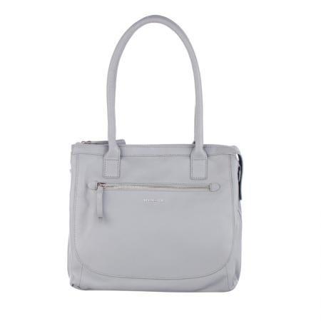 Дамска чанта цвят Сиво - ROSSI
