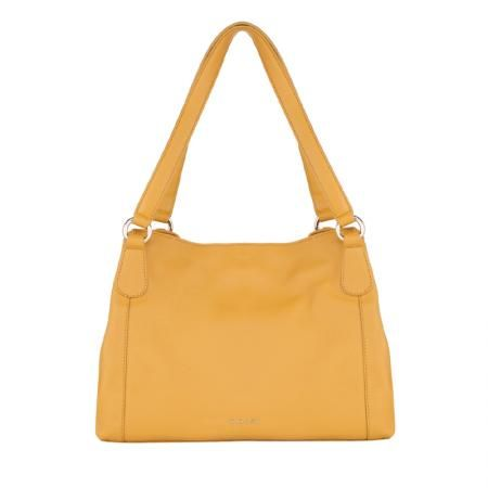 Дамска чанта цвят Светла горчица - ROSSI