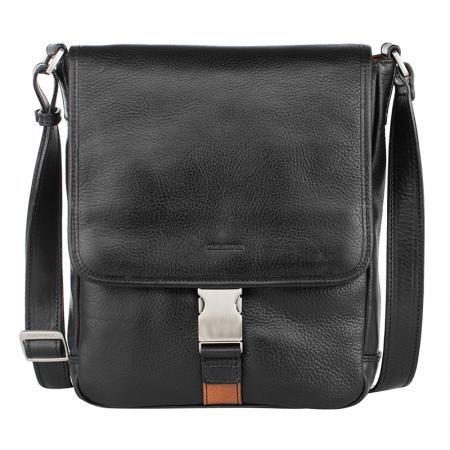 Мъжка черна чанта - CHIARUGI
