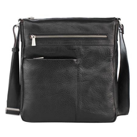 Черна мъжка чанта - CHIARUGI