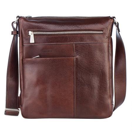 Кафява мъжка чанта - CHIARUGI