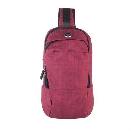 Малка чанта през рамо червена - SWISSDIGITAL