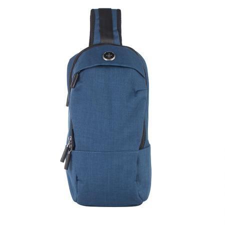 Малка чанта през рамо синя - SWISSDIGITAL