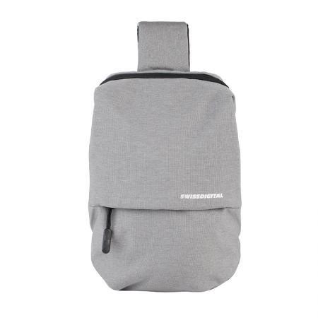 Смарт чанта сива през рамо - SWISSDIGITAL