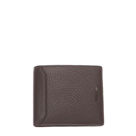 Мъжки портфейл тъмно кафяв - CERRUTI