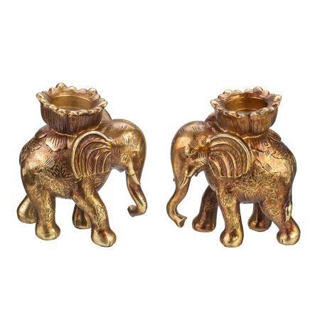 Слончета свещници