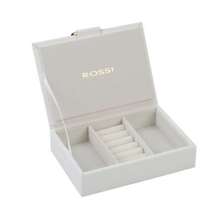 Кутия за бижута цвят бяло - ROSSI