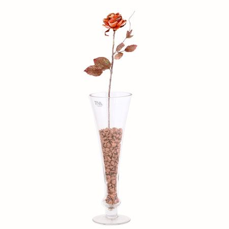 Роза малка кафява