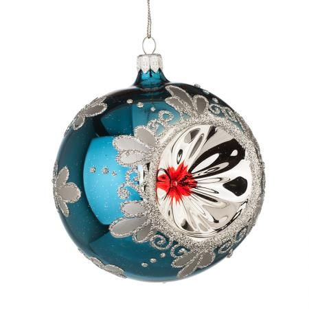Коледна стъклена топка