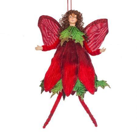 Коледна фея червена