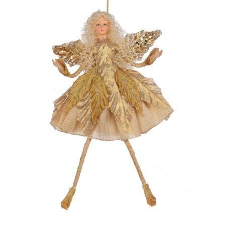 Коледна фея златна