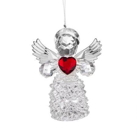 Висулка ангелче със сърце