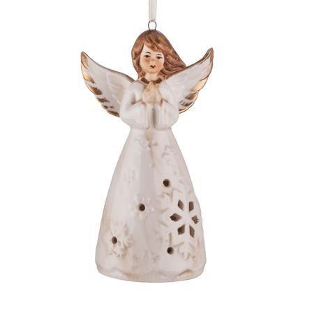 Коледно ангелче със златни крила