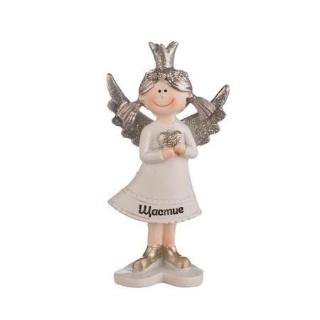 Коледно ангелче с надпис