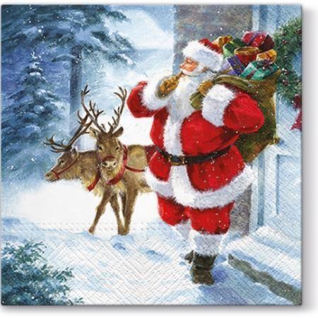 Салфетки - Коледа идва
