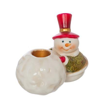 Свещник снежно човече