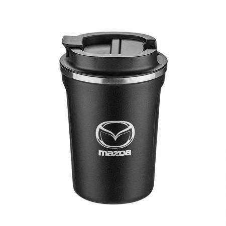 Термо чаша SILVER FLAME с лого на  Mazda