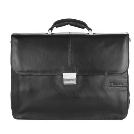 Класическа черна чанта - CHIARUGI