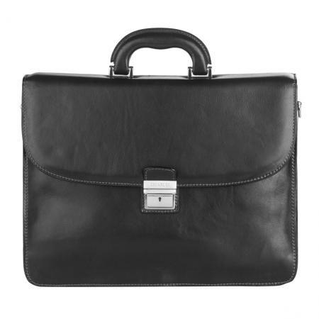 Класическа чанта от естествена кожа - CHIARUGI