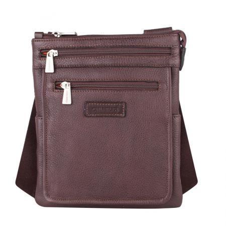 Мъжка спортна чанта кафява - CHIARUGI
